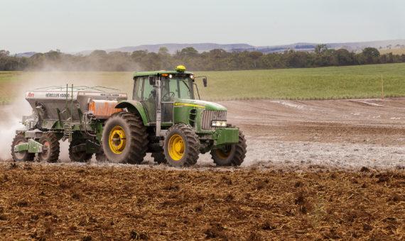 Parceria com Agricultura de Precisão