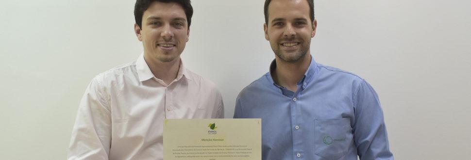 Canaoeste recebe Menção Honrosa da equipe do Protocolo Etanol Mais Verde.