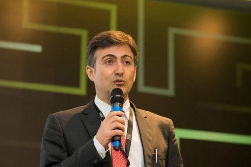 Fernando Lopes, do Instituto Totum, apresenta exemplos de amostragens para o RenovaBio durante a NovaCana Ethanol Conference 2019