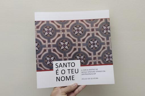 Santo é o teu nome livro de Zéluiz de Oliveira