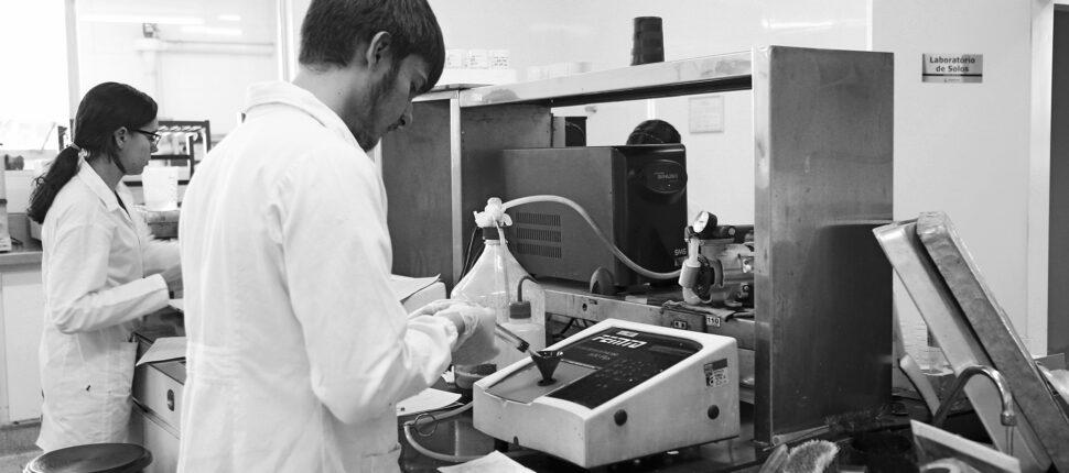 laboratorio de solos